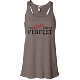 """The Kinky Side Of Perfect"" Flowy Tank"