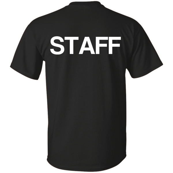 """STAFF"" Cotton T-Shirt"