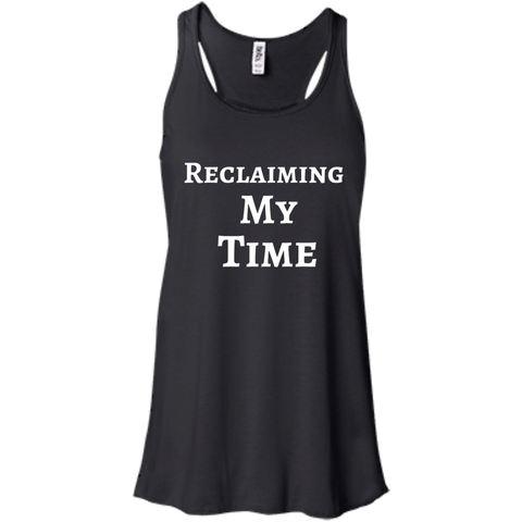 Reclaiming My Time Racerback Tank
