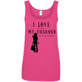 """I Love It When Shopping"" Variant Ladies' Cotton Tank"