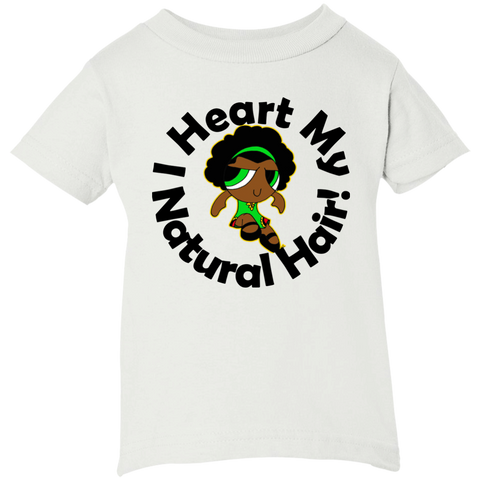 """I Heart My Natural Hair"" Infant T-Shirt 3"