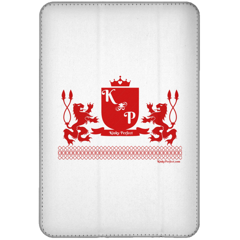 """Kinky Perfect Crest"" iPad Mini Flip Case"