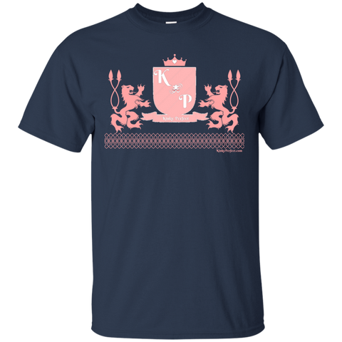 """Kinky Perfect Pink Crest"" Cotton T-Shirt"
