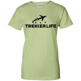 Trekker Life Fly Ladies Cotton T-Shirt - Blk