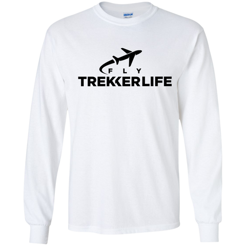 Trekker Life Fly Long Sleeve T-Shirt - Blk