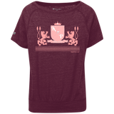 """Kinky Perfect Pink Crest"" Charisma T-shirt"