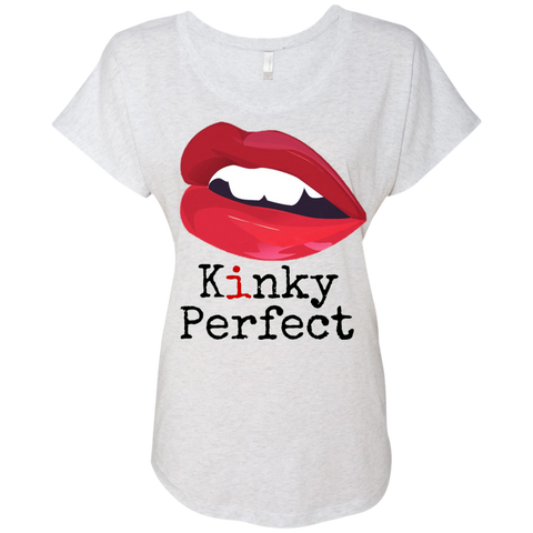 """Kinky Perfect Classic"" Ladies' Dolman Sleeve Tee"