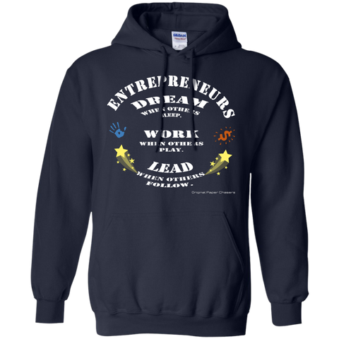 """Entrepreneurs Dream Stars"" Paper Chasers Hoodie"
