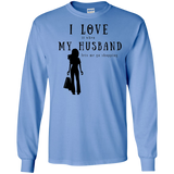 """I Love It When Shopping"" Variant Cotton Long Sleeve Tee"