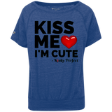 """Kiss Me I'm Cute"" Charisma T-Shirt"