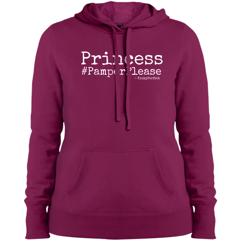 """Princess Pamper Please"" Ladies' Hoodie"