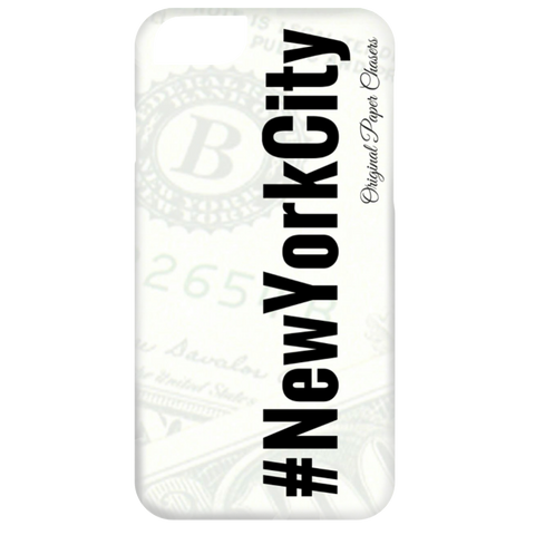 """#NewYorkCity"" Paper Chasers iPhone 6 Case"