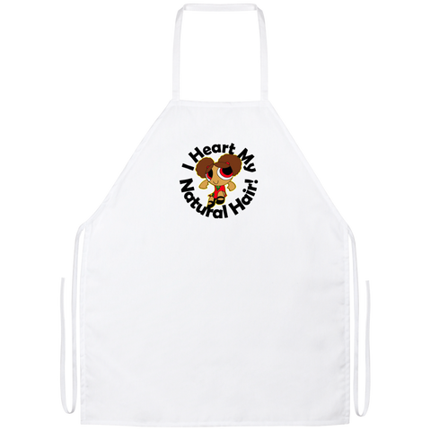 """I Heart My Natural Hair"" Apron"