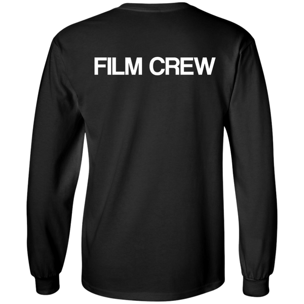 """Film Crew"" Cotton Long Sleeve"