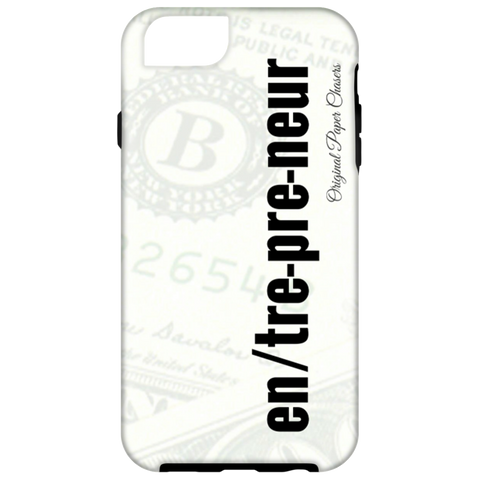 """Entrepreneur"" Paper Chasers iPhone 6 Tough Case"