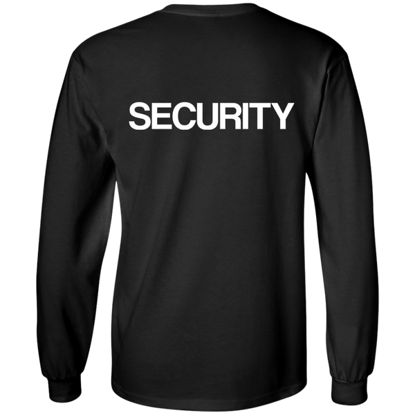 """SECURITY"" Cotton Long Sleeve"