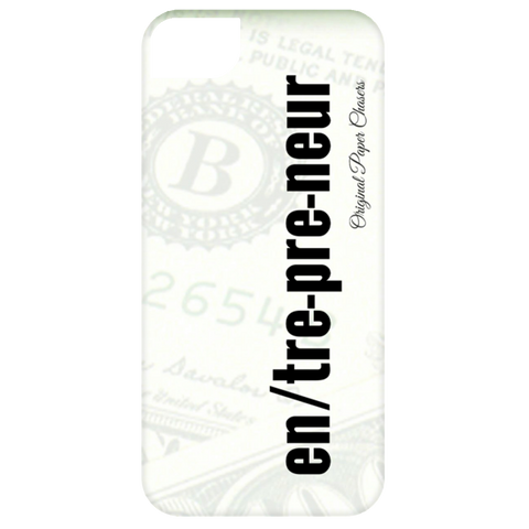 """Entrepreneur"" Paper Chasers iPhone 5 Case"