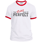 """The Kinky Side Of Perfect"" Men's Ringer Tee"