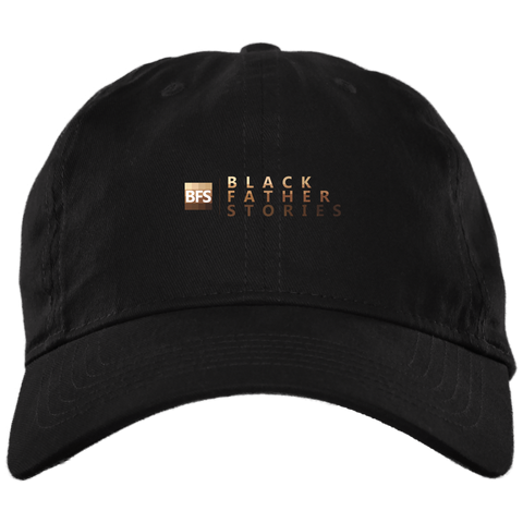 Black Father Stories Twill Dad Cap