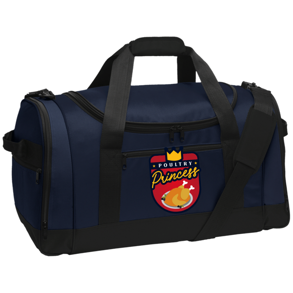 Poultry Princess Travel Sports Duffel