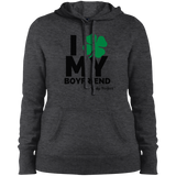 "Kinky Perfect ""I Heart My Boyfriend"" Ladies Pullover Hoodie"