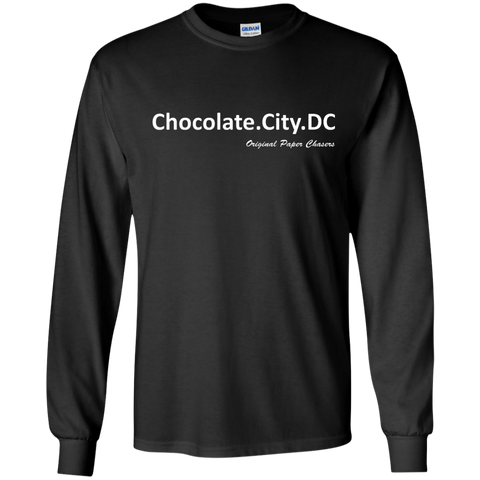 """Chocolate City"" Paper Chasers LS T-Shirt"
