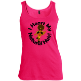 """I Heart My Natural Hair"" Women's Scoop Neck Tank Top 2"