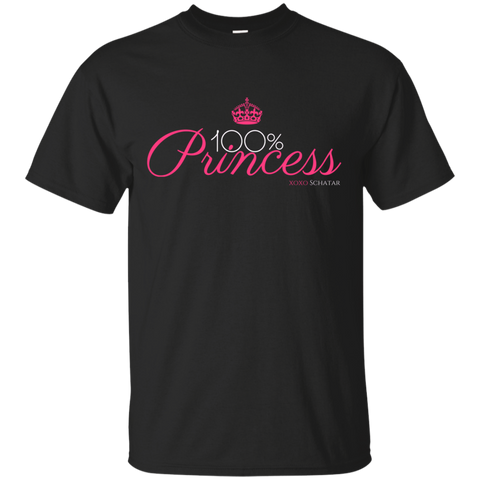 100 Percent Princess Cotton T-Shirt