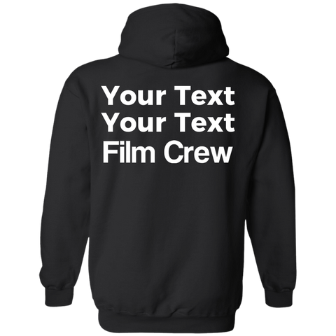 Film Crew Pullover Hoodie - Personalized