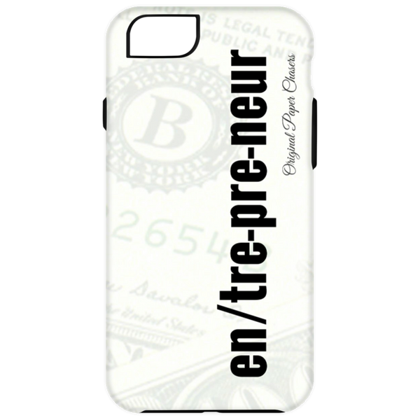 """Entrepreneur"" Paper Chasers iPhone 6 Plus Tough Case"