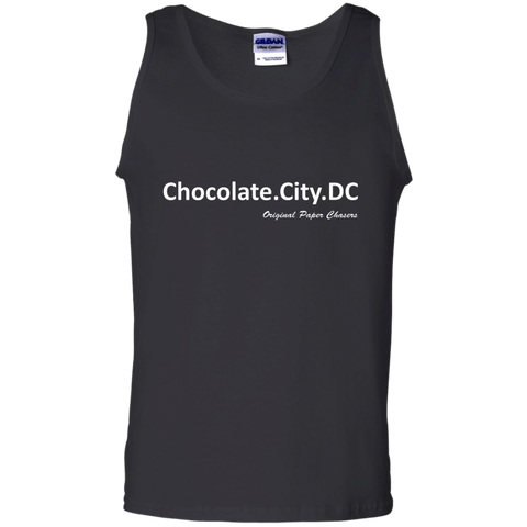 """Chocolate City"" Paper Chasers  Tank Top"