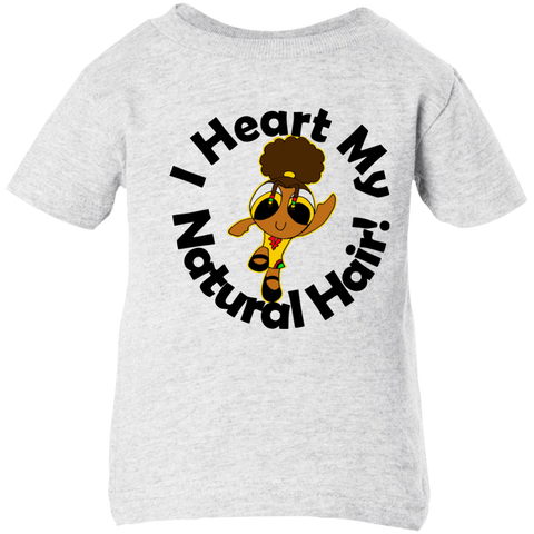 """I Heart My Natural Hair"" Infant T-Shirt 2"