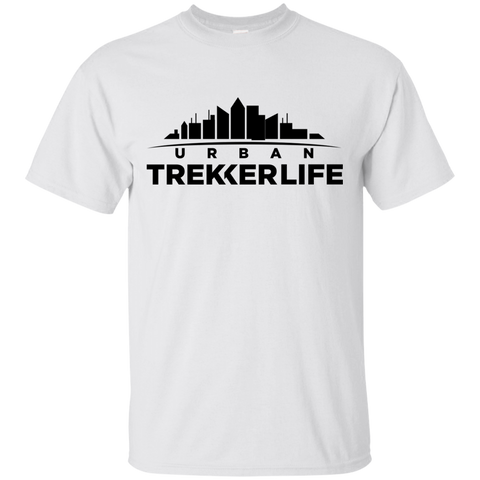 Trekker Life Urban Cotton T-Shirt - Blk