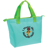 """I Heart My Natural Hair"" Zippered Tote"