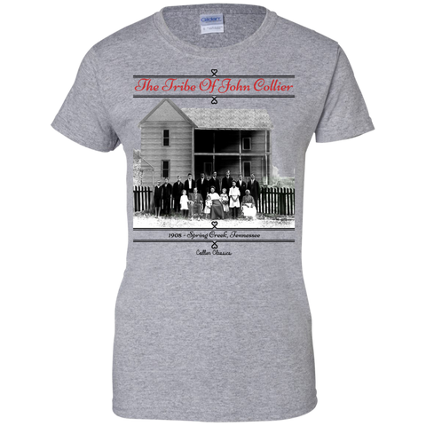 Tribe Of John Collier Ladies T-Shirt