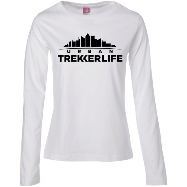 Trekker Life Urban Ladies Long Sleeve T-Shirt - Blk