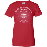 """Entrepreneurs Work"" Paper Chasers Ladies T-Shirt"