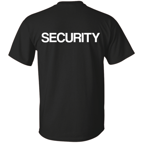 """SECURITY"" Cotton T-Shirt"