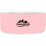 Trekker Life Dog Bowl - Blk