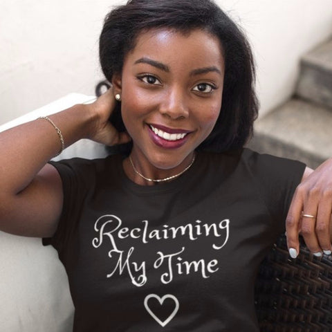 Reclaiming My Time Ladies Premium Tee