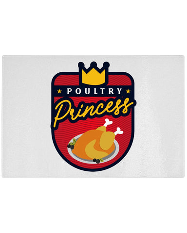 Poultry Princess Cutting Board