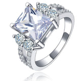 Vintage Style CZ Ring