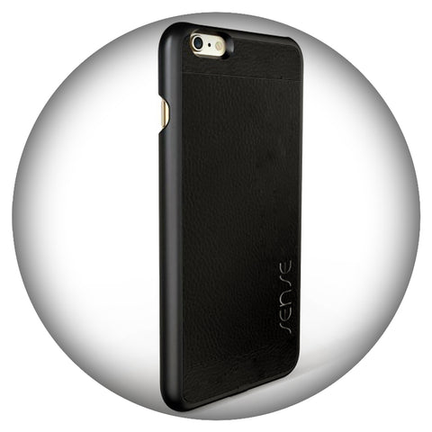 SENSE Wireless Receiver Case iPhone Onyx Black