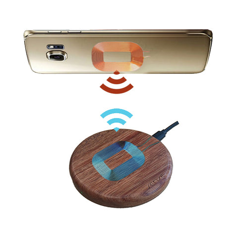 wood wireless charger and samsung phone work together wireless charging