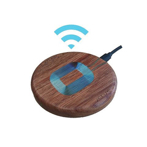 Wood charger with coil