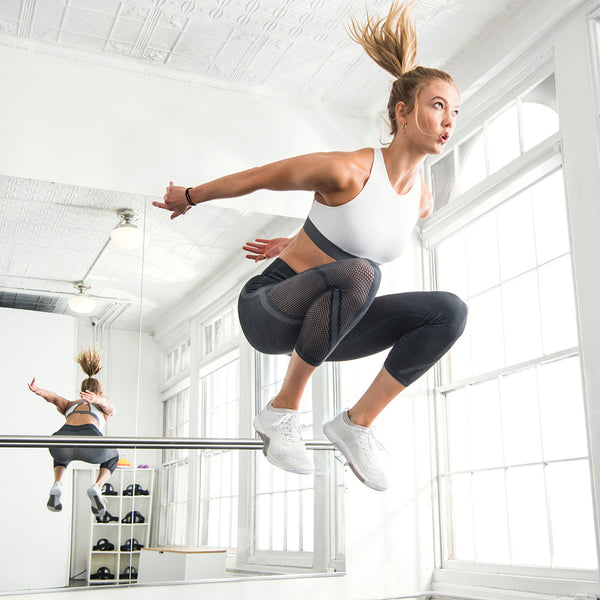 Karlie Kloss launches new Adidas Warp Knit Collection