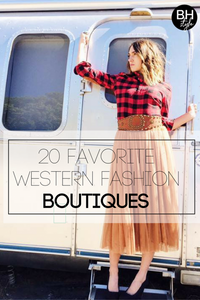 Best of the West: 20 Must Shop Boutiques Leading Western Fashion
