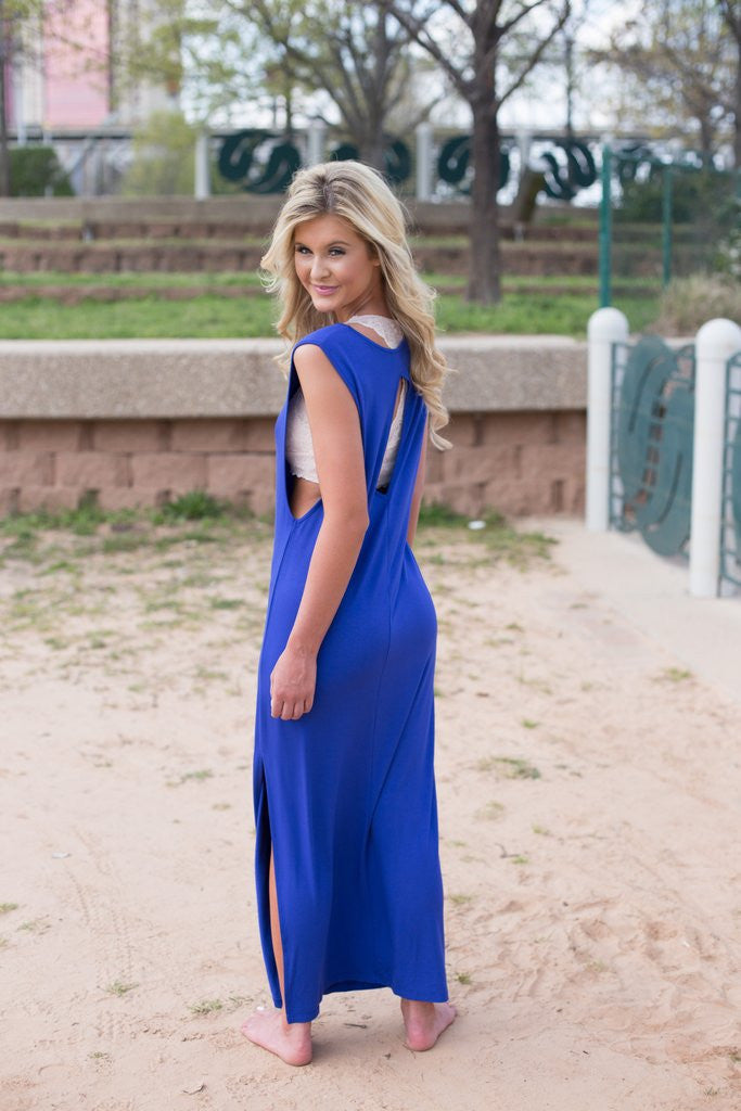 Sandy Maxi In Royal Blue
