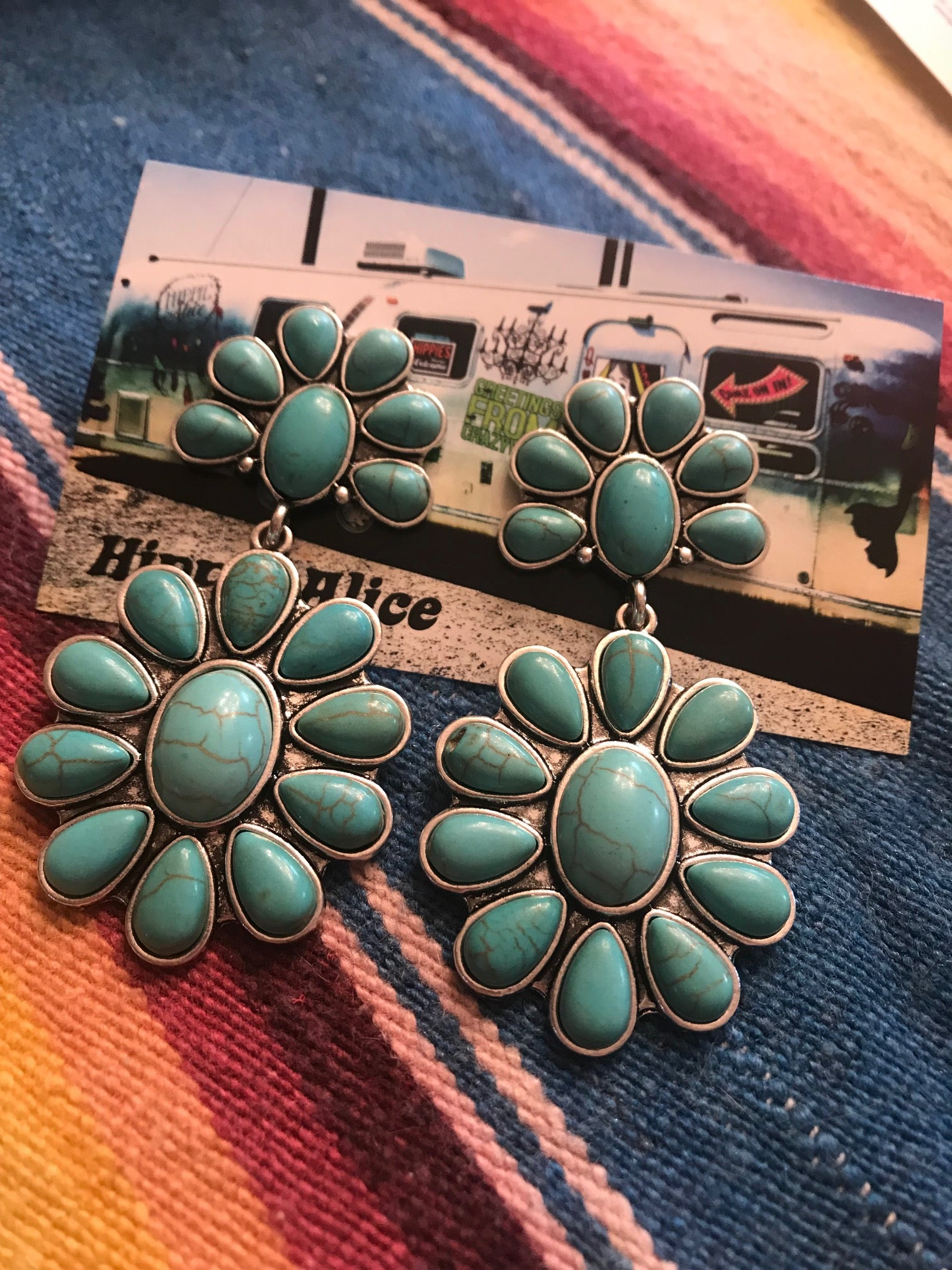 Turquoise Drop Earring
