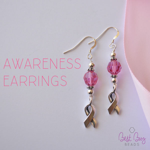 awareness earrings - Earring Design Ideas